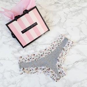 VS Cotton Lace-trim Cheeky Panties